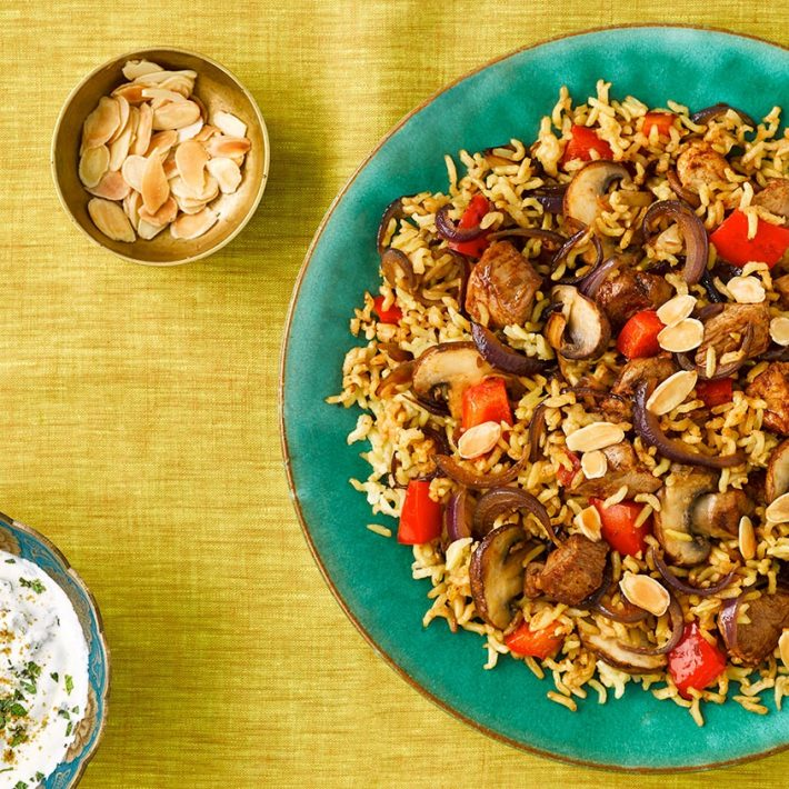 Spicy Pilaf