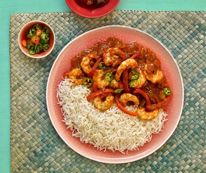 Shrimp Jalfrezi