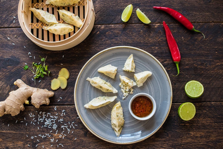 Chinese Shrimp Potsticker Dumplings
