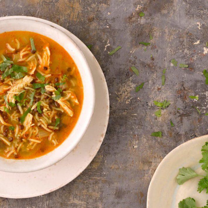 Chicken & Puy Lentil Soup